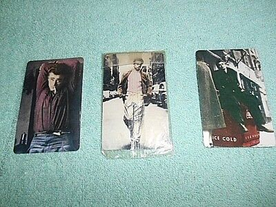 James Dean Limited Edition  Pre Paid Phone Cards - Lot Of 3 Collectibles