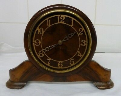 Vintage 1930's Art Deco Davall Mantle Clock