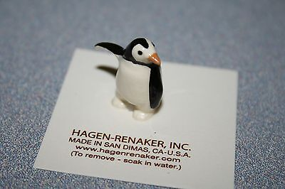 Hagen Renaker Baby Penguin Figurine Miniature Collect New Free Shipping 00232