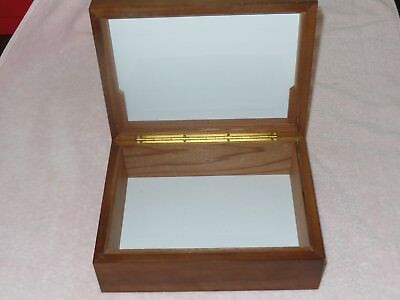 Cigar Box Humidor Only Wood Box Holds A Lot Of Cigars
