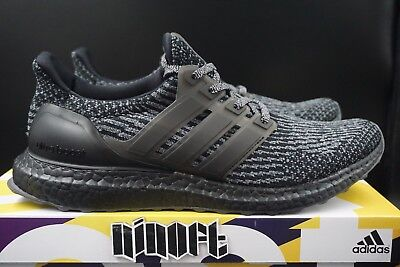 d48b7cd03 ADIDAS ULTRA BOOST 3.0 Limited Triple Black Silver Grey BA8923 new ...