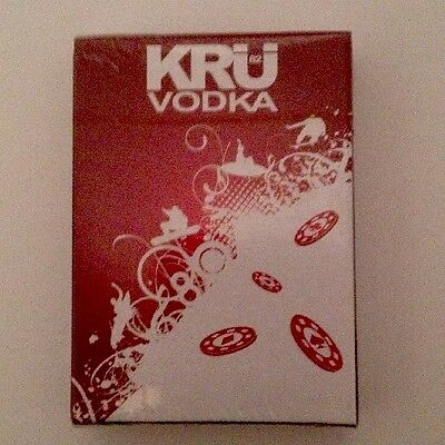 NEW Adult Poker Game Deck Playing Card Standard Size KRU 82 Vodka French Liquor