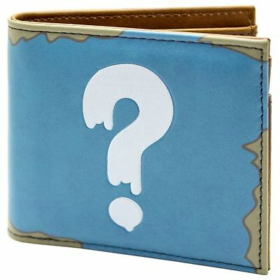 Official Gravity Falls Mystery Shack Question Blue Id & Card Wallet *SECOND*