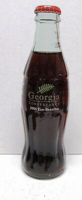 Rare 2004 Georgia Conservancy Commemorative Coca-Cola Bottle -Eco-Benefete-Mint