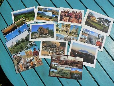 Collection Of 13 Postcards - South Africa
