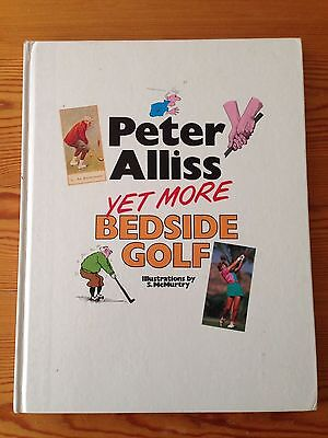 Peter Alliss YET MORE Bedside Golf book - Very Good Condition