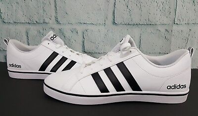 finest selection 69583 67f2f ... coupon code for adidas neo mens pace vs fashion 11 sneakers shoes white  black blue aw4594