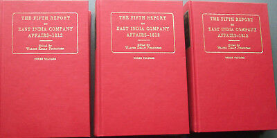The Fifth Report Of The East India Company Affairs 1812