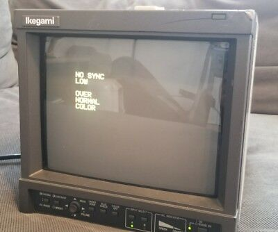 Ikegami TM9-3  Broadcast Color Video Monitor