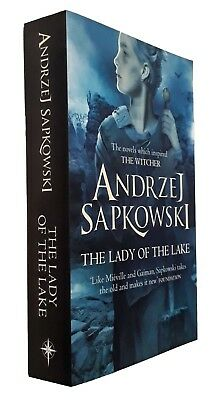 The Lady of the Lake Andrzej Sapkowski Book The Witcher Series Fantasy New