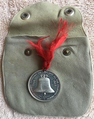 1876 Centennial Expo So-Called Dollar HK-26 Liberty Bell w ribbon, Exc Condition