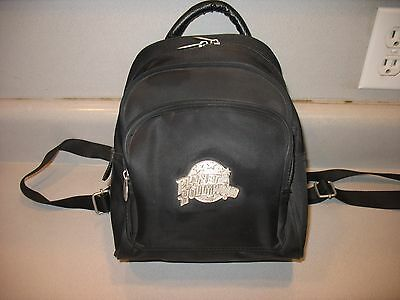 Vintage Planet Hollywood Small Black Backpack