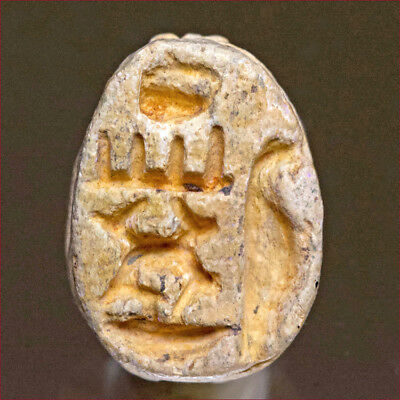Scarab with inscription for Tuthmoses III. 7735