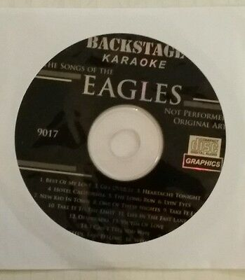 Backstage Karaoke Cdg     The  Eagles     17  Of There  Top Tracks