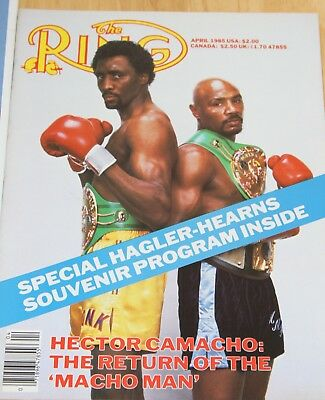 Vintage Boxing KO & Ring Magazines - 1980's - Hagler v Hearns Preview editions