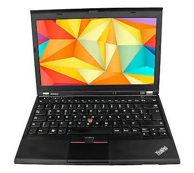 Lenovo ThinkPad X230 Core i5-3320M 3.Gen 2.60ghz 4gb 320gb Windows7 Pro o.Akku B