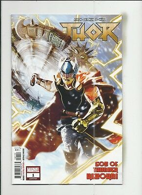 Thor #1 (2018) near mint- (NM-) condition