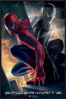 91803 SPIDER MAN 3 MOVIE SPIDEY & VENOM Decor WALL PRINT POSTER UK