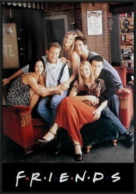 92048 FRIENDS SITTING ON COUCH CENTRAL PERK CAFE Decor WALL PRINT POSTER UK