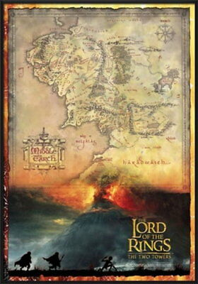 92448 LORD OF THE RINGS THE TWO TOWERS MIDDLE EARTH Decor WALL PRINT POSTER UK