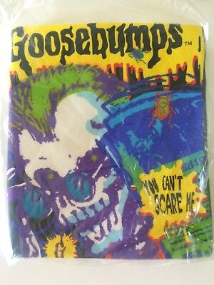Vintage Goosebumps You Cant Scare Me T-Shirt NWT Rare R.L. Stine