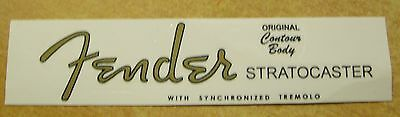 FENDER Stratocaster  1954   Decal
