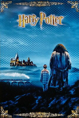 91624 HARRY POTTER THE SORCERER'S STONE HARRY HAGRID Decor WALL PRINT POSTER AU