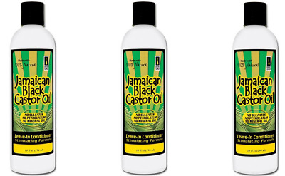 Value Pack Of 3 Doo Gro Jamaican Blk Castor Oil Leave In Conditioner