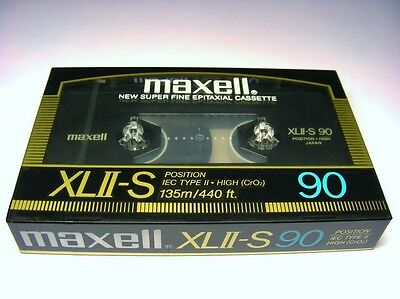 1 RARE NEW MAXELL XLII-S IEC TYPE II HIGH CrO2 90 CASSETTE TAPE MADE IN JAPAN