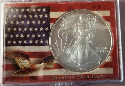 2009 Silver Dollar Coin ~ 1 troy oz AMERICAN EAGLE ~ Walking Liberty .999