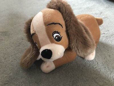 Lady And The Tramp Soft Toy Plush