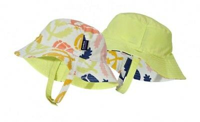 Patagonia Infant Toddler Sun Bucket Hat Poppies Print Reversible 2f81da95e741