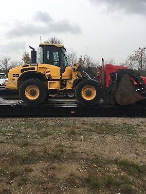 2011 Volvo L50F Wheel Loader Cab, Ac, Ride Control, Aix Hydraulics, Bucket Coupl