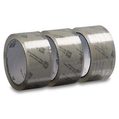 2 Rolls - 2 Inch x 110 Yards (330 ft) Clear Carton Sealing Packing Tape