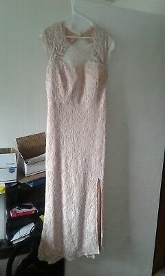 Mother of groom dress.Dave bridals.Size 21.Worn on only one occasion.
