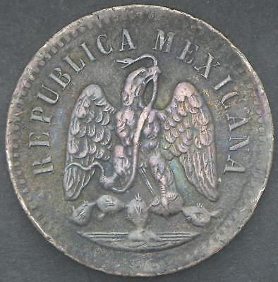 Best offer! Mexico Second Republic One Centavo 1891 Mo