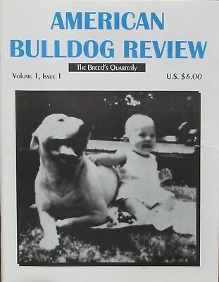American Bulldog Review Magazine Volume 1, Issues 1-4 Bulldog History and more.