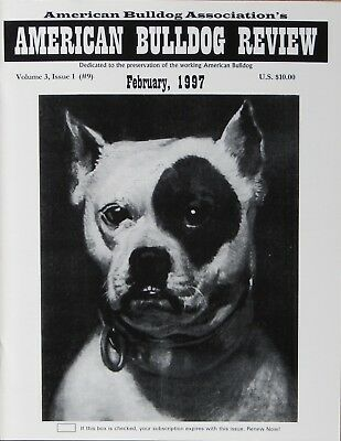 American Bulldog Review Magazine Vol. III, Issues 1-4 Bulldog History and more.