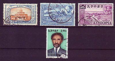 Ethiopia 1925/1973 Lot Of 4 Used Stamps