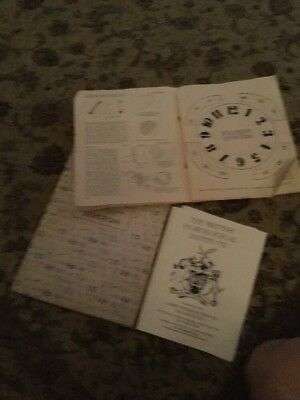 Old Watchmakers How To Make A Clock & Bergeon Parts Booklets Vintage
