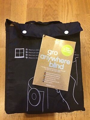 Gro Anywhere Travel Blackout Blind - The Grow Company. In Great Condition.