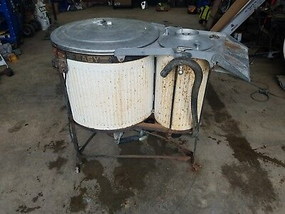 Easy model R washing machine syracuse ny. More advanced than maytag wringer