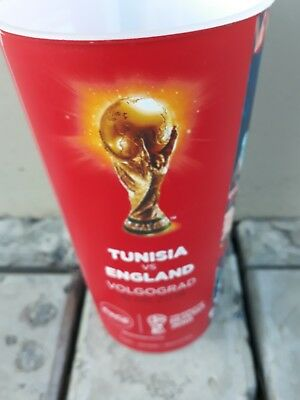 Cola Becher WC 2018 Match 14 Tunisia - England