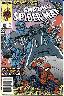 1990 The Amazing Spider-Man #329 NM Marvel Comics FREE BAG/BOARD