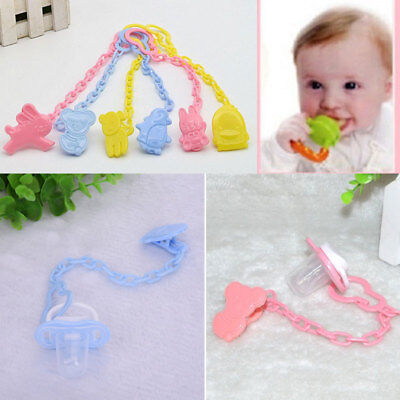 Food Kids Feeding Convenient L0 Pacifier Holder Baby Pacifier Clip