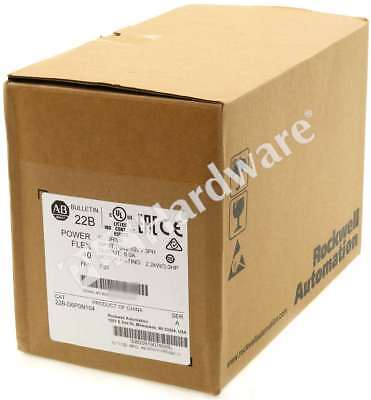 New Sealed Allen Bradley 22B-D6P0N104 /A 2018 PowerFlex 40 AC Drive 480V 3HP 6A