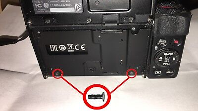 Canon G7X mark ii Screen Screws X2