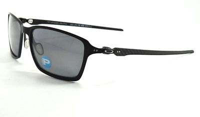 96083926ff Oakley TINCAN CARBON OO6017-02 Satin Black  Black Iridium Polarized  Sunglasses