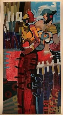 """Tadeo Zavaleta's """"SERENATA"""" #14/99 Ltd Edition Lithograph - Signed and Numbered"""