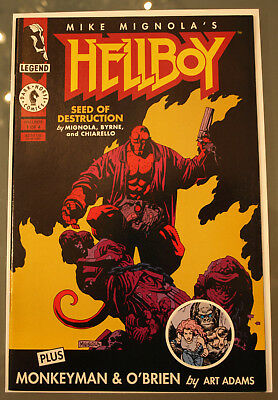 Hellboy Seed of Destruction 1 - Dark Horse 1994 - NM! - Lots of Pics!